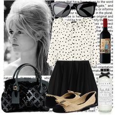 Inspiration: Brigitte Bardot #4, created by tatibr  it's simple.  its french.  its bardot