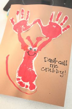 I love doing handprint art and this is just so cute.
