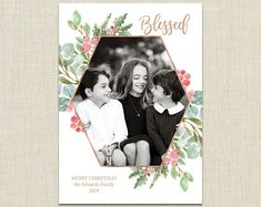 Invitations and announcements for stylish people. by brownpaperstudios Christmas Photo Cards, Christmas Photos, Holiday Cards, New Year Greeting Cards, New Year Greetings, Diy Envelope Liners, Print Packaging, Baby Shower Invitations For Boys, Personalized Stationery