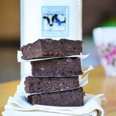 Bakeaholic Mama: A Healthy Brownie made with avocado and black bean