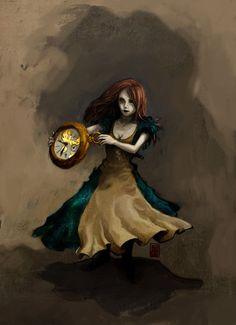 Alice in Wonderland on the Behance Network