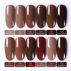 Brand Name: Born Pretty Item Type: Nail Gel Type: Gel Polish Model Number: Volume: Ingredient: Nail Gel Polish Quantity: 12 pcs/set NET WT: Bright Nails, Neutral Nails, Stylish Nails, Trendy Nails, Uv Gel Nails, Diy Nails, Colored Acrylic Nails, French Acrylic Nails, Gel Nail Art