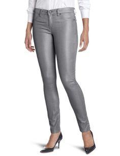 Calvin Klein Jeans Women's Silver Sparkle Liquid Metal Legging, Pewter, 2 buy at http://www.amazon.com/dp/B007Z2QBQ8/?tag=bh67-20