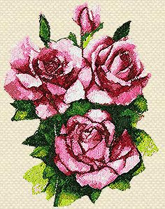 'ROSES' Machine Embroidery Design