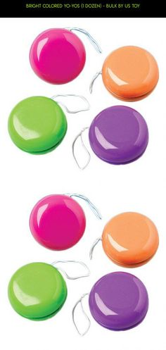 Bright Colored Yo-Yos (1 Dozen) - Bulk by US Toy #fpv #kit #shopping #racing #products #gadgets #technology #plans #bulk #drone #yo-yo #tech #camera #parts