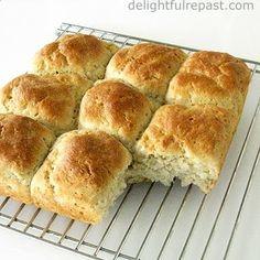 Delightful Repast: Gluten-Free Pull-Apart Dinner Rolls