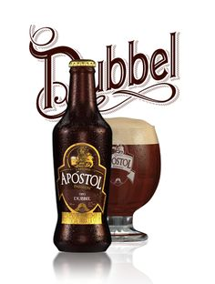Cerveza Premium Apóstol. Tipo Dubbel Beer Bottle, Whiskey Bottle, Coca Cola, Beer Packaging, Cream Soda, Beer Bar, Root Beer, Whisky, Wines