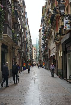 The streets of Bilbao, the capital of Basque Country in northern Spain and where The World's 50 Best Restaurants event took place this year. James Thompson, Basque Country, Bilbao, All Over The World, Photo Credit, Restaurants, Spain, Feels, Street View