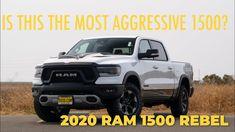 The Aggressive 2020 Ram 1500 Rebel Chrysler Dodge Jeep, Diesel Engine, Rebel, Engineering, Technology