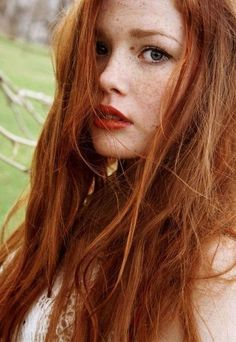 What is it about redheads that some of us – the sane ones anyway – find simply irresistible? Is it really just the hair color, or is there something else, some ineffable quality that we can't pin down? Maybe it's the contrast between fair skin and rich hair color. Maybe it's the rarity; red hair oc