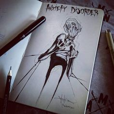Mental illness art by Shawn Coss // mental health illustrations