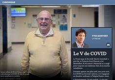 Le V de COVID - La Presse+ Mens Tops, T Shirt, Merchant Navy, Four Kids, World War, Supreme T Shirt, Tee Shirt, Tee
