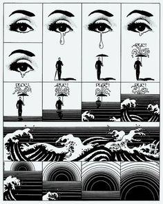 she-always-wears-black:  illustrationPhilippe Caza