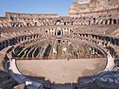 Vista interior do Coliseo