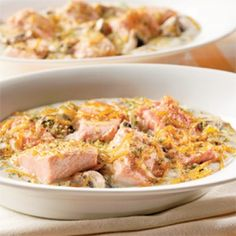 Gratin de saumon au cheddar - Soupers de semaine - Recettes 5-15 - Recettes express 5/15 - Pratico Pratique