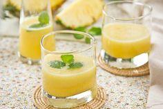 Receitas de Sucos Detox Com Abacaxi