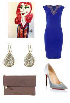 """""""Set 6...November 7th."""" by liz957 ❤ liked on Polyvore featuring Little Mistress, Alexis Bittar, Christian Louboutin, Clare V., outfit, set, ootd and polyvorefashion"""