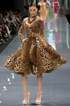 John Galliano's Haute Couture Autumn-Winter 2008-2009 fashion show