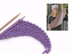 DROPS Design - Patrones de punto, patrones de ganchillo e hilos de alta calidad Easy Knitting Patterns, Knitting Stitches, Free Knitting, Crochet Patterns, Crochet Star Stitch, Knit Or Crochet, Crochet Scarves, Drops Design, Magazine Drops