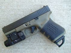 Glock 19. One of the most pleasant-shooting Glocks I've tried.