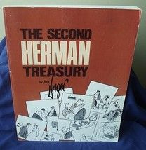 The Second Herman Treasury Jim Unger Cartoons Strips Collector