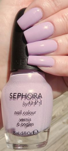 It's Hippo to Be Square Manicure - Sephora by OPI