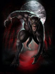 The Werewolf: A creature who turns from human to wolf based on the cycle of the moon