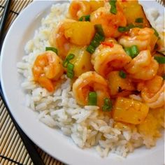 sweet chili shrimp - I like this with just plain brown rice or Beth's garlic noodles.  You will find that recipe on her web site.  www.budgetbytes.com