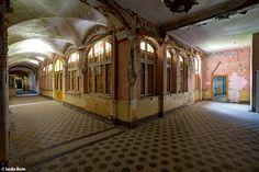 Beelitz Heilstatten (D) May 2014 abandoned sanatorium asylum hospital in the Former east Germany DDR GDR urbex decay Photo by: Jascha Hoste