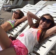 the ziegler sisters chilling in la