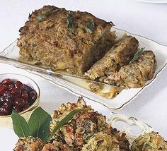 The classic Christmas stuffing for the traditionalists among us = Sausage, sage & onion stuffing Xmas Dinner, Christmas Lunch, Christmas Cooking, Christmas Recipes, Holiday Meals, Christmas Parties, Sage And Onion Stuffing, Sausage Stuffing, Recipes