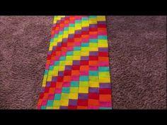 YouTube rainbow bargello tutorial