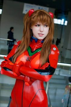 Tagged with anime, thats my fetish, latex, evangelion; Shared by Asuka Cosplay By Shirogane-Sama Asuka Cosplay, Latex Cosplay, Naruto Cosplay, Cosplay Outfits, Cosplay Girls, Cosplay For Sale, Best Cosplay Ever, Asuka Langley Soryu, Neon Genesis Evangelion