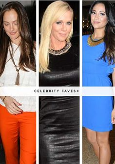 Celebrities wearing Stella & Dot!! <3 #lovemyjob #gorgeousjewelry