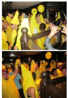 Imagine Harry's 21st birthday party