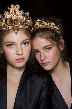Dolce & Gabbana at Milan Fashion Week Spring 2016 - Livingly