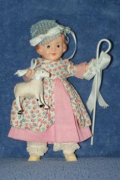 Vintage Arranbee Storybook Little Bo-Peep In Original Box Very Nice Little Bo Peep, Vintage Dolls, Peeps, Teddy Bear, The Originals, Nice, Toys, Animals, Ebay