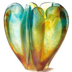Daum Brothers, Orchid Vase. #ArtNouveau