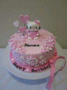 Hello Kitty:Children's Birthday Cakes -   Cake Designs ...