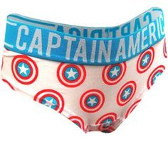 Marvel Comics Captain America Hipster Panty - Visit to grab an amazing super hero shirt now on sale!