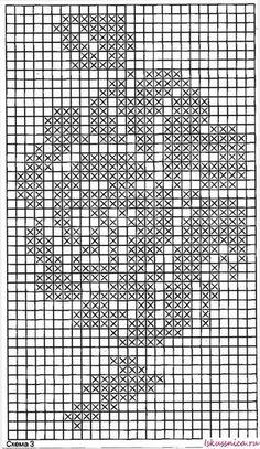 Häkeln Sie Teppichgrafiken jedes Top-Modell – в 2020 г Filet Crochet Charts, Crochet Cross, Knitting Stitches, Knitting Patterns, Crochet Patterns, Crochet Doilies, Crochet Flowers, Cross Stitch Embroidery, Cross Stitch Patterns