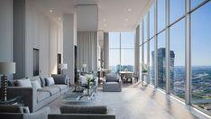 Home Room Design, Dream Home Design, Modern House Design, Modern Interior Design, Luxury Homes Interior, Luxury Apartments, Modern Mansion Interior, House Outside Design, Dream House Exterior