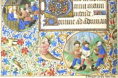 Book of Hours, MS M.1003 fol. 82v - Images from Medieval and Renaissance Manuscripts - The Morgan Library & Museum