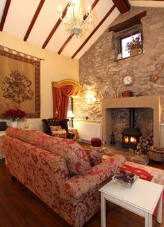 Romantic French cottage