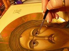 painting an Orthodox icon