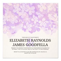 This DealsPurple Flowers Wedding Invitations Invitationtoday price drop and special promotion. Get The best buy