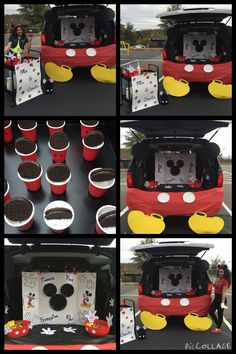 mickey mouse inspired trunk r treat