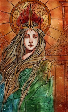 Dragon Age: Inquisition ~ Maker, that's some good Andraste artwork. Dragon Age Origins, Dragon Age Inquisition, Solas Dragon Age, Dragon Age Characters, Fantasy Characters, Avatar Forum, Character Inspiration, Character Art, Pinturas Disney