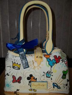 Dooney purse cake