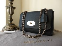 #Mulberry medium Lily Black Soft Grain > http://www.npnbags.co.uk/naughtipidginsnestshop/prod_3543445-Mulberry-Lily-Medium-in-Black-Soft-Grain-Leather-New.html